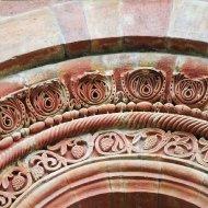 Relief auf der Außenfassade