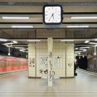 Mühlberg - einfahrende S-Bahn