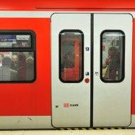 S-Bahn-Station Ostendstrasse - in der S-Bahn
