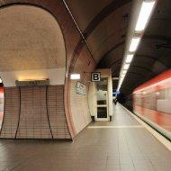 S-Bahn-Station Ostendstrasse - mit S-Bahn