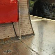 S-Bahn-Station Ostendstrasse - geisterhaft