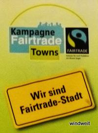 Wir sind Fairtrade-Stadt!