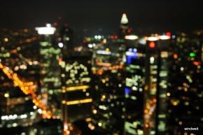 Lichter einer Großstadt - Maintower