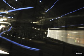 Lichter einer Großstadt - Lindleyplatz abstrakt