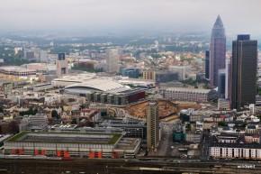 Frankfurt und Umgebung aus der Luft