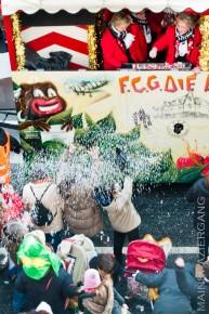 Karnevalszug in Frankfurt