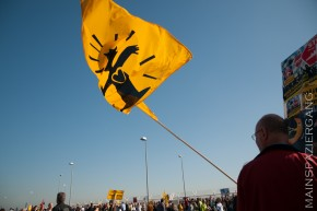 Ein Jahr Fluglärm - ein schwarzer Sonntag für viele