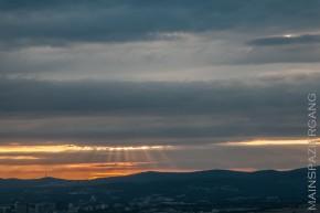 Sonnenuntergang vom Maintower